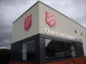 Band leading morning worship @ Bellshill Salvation Army | Scotland | United Kingdom