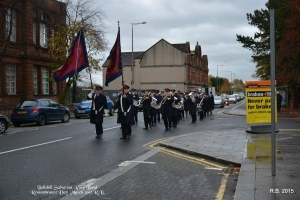 08 Nov 2015 Remembrance parade