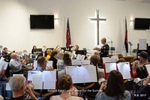 21 June 2017 Open band practice