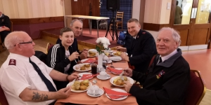Dinner at British Legion Forfar